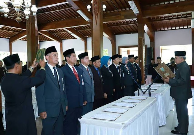 Bupati Kebumen Rotasi Pejabat Eselon II, Tahap Pertama 10 Orang