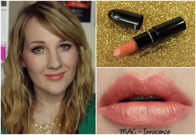 MAC Innocence lipstick swatch