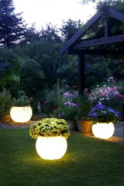 Backyard Lighting Ideas