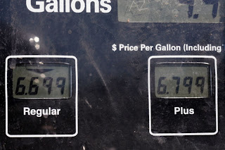 price gas california
