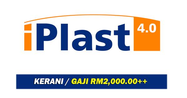 Jawatan Kosong di Iplast40 Sdn Bhd