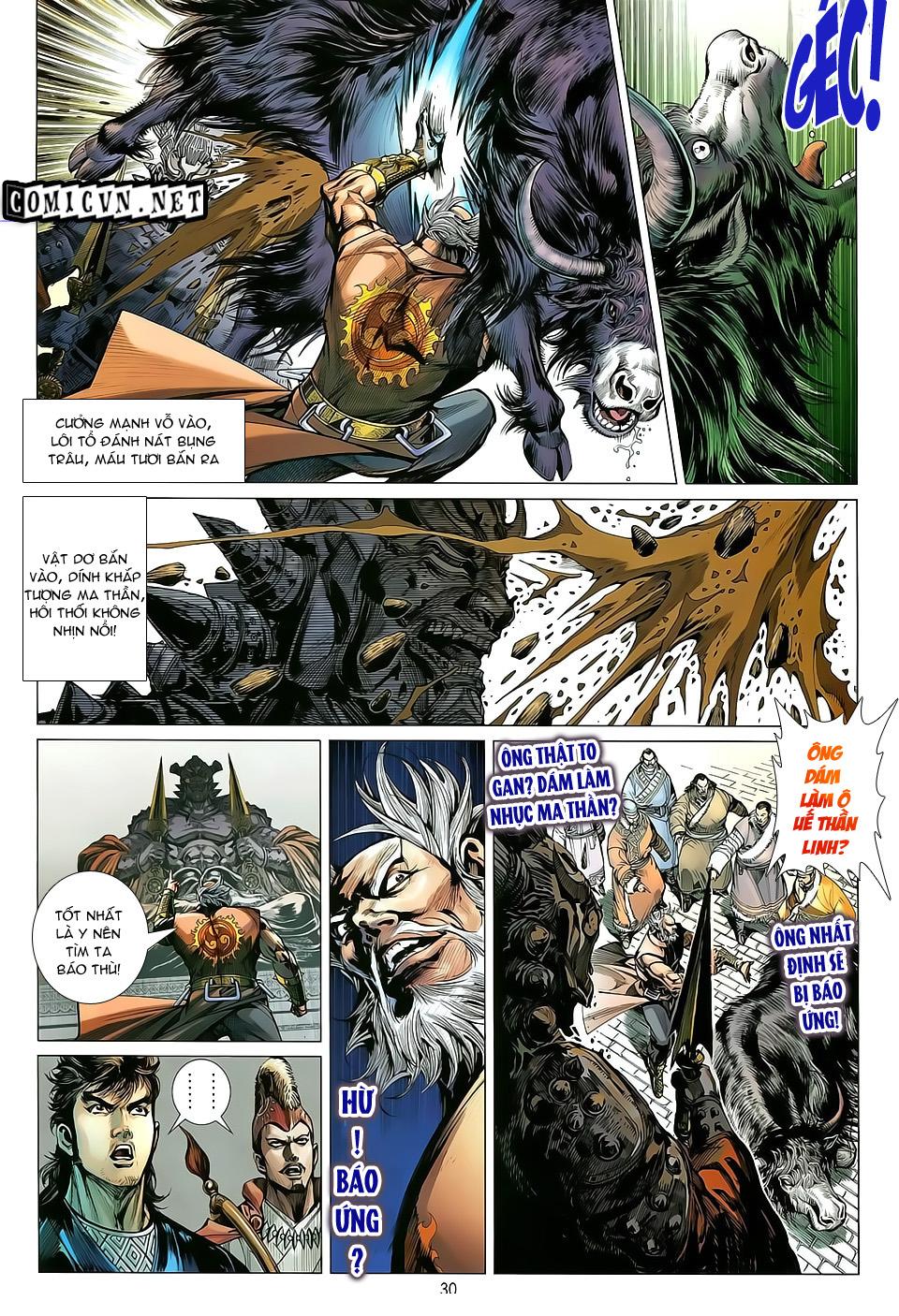 truyện tranh thiết tướng tung hoành Chapter 28/