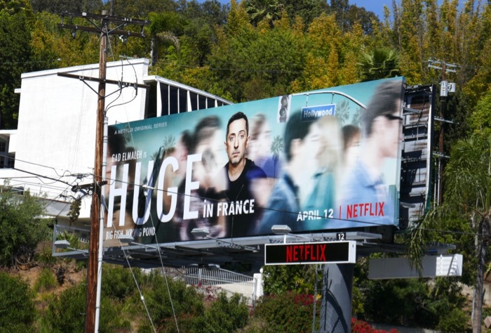 Huge in France season 1 billboard
