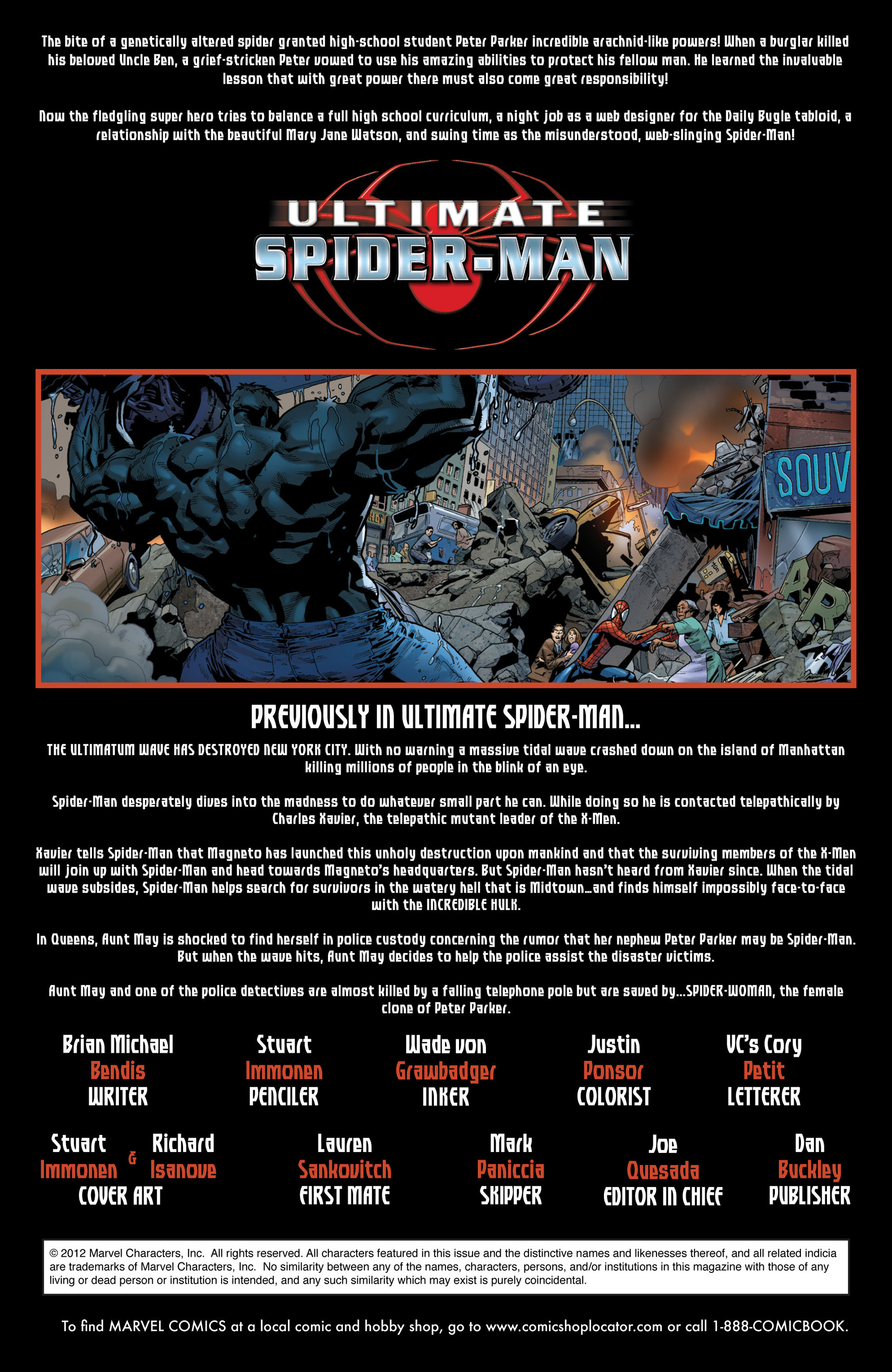 Read online Ultimate Spider-Man (2000) comic -  Issue #131 - 2
