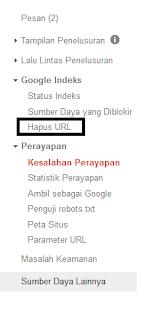 Cara menghapus link rusak yang dicrawl google