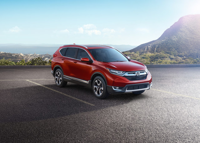 The Re-Designed 2017 Honda CR-V Has Gone Turbo