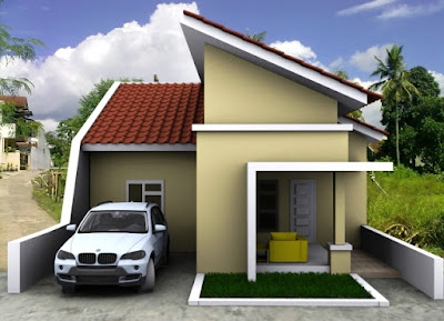 50 Desain Atap Rumah Minimalis Modern - Rumahku Unik