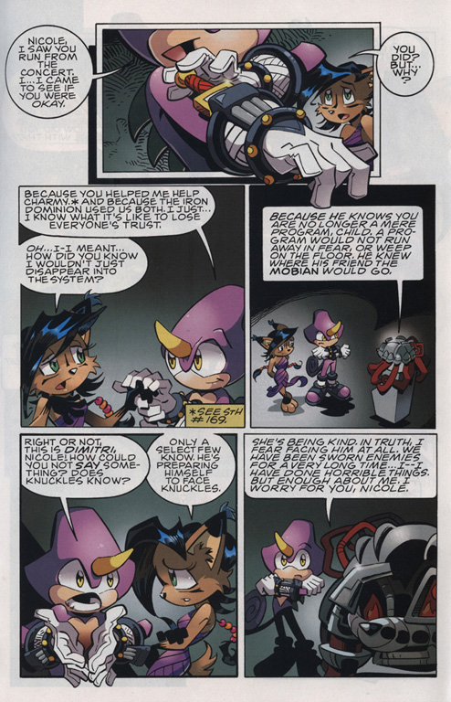 Read online Sonic The Hedgehog comic -  Issue #221 - 21