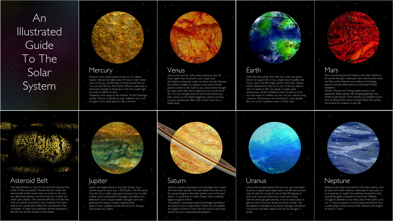 the solar system planets information - photo #11