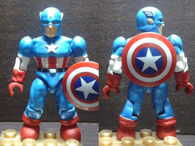 Brick+Blok Hunter: Custom Marvel Mega Bloks Captain America