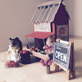 How to Make a Miniature Farm Stand | Dainty & Sweet