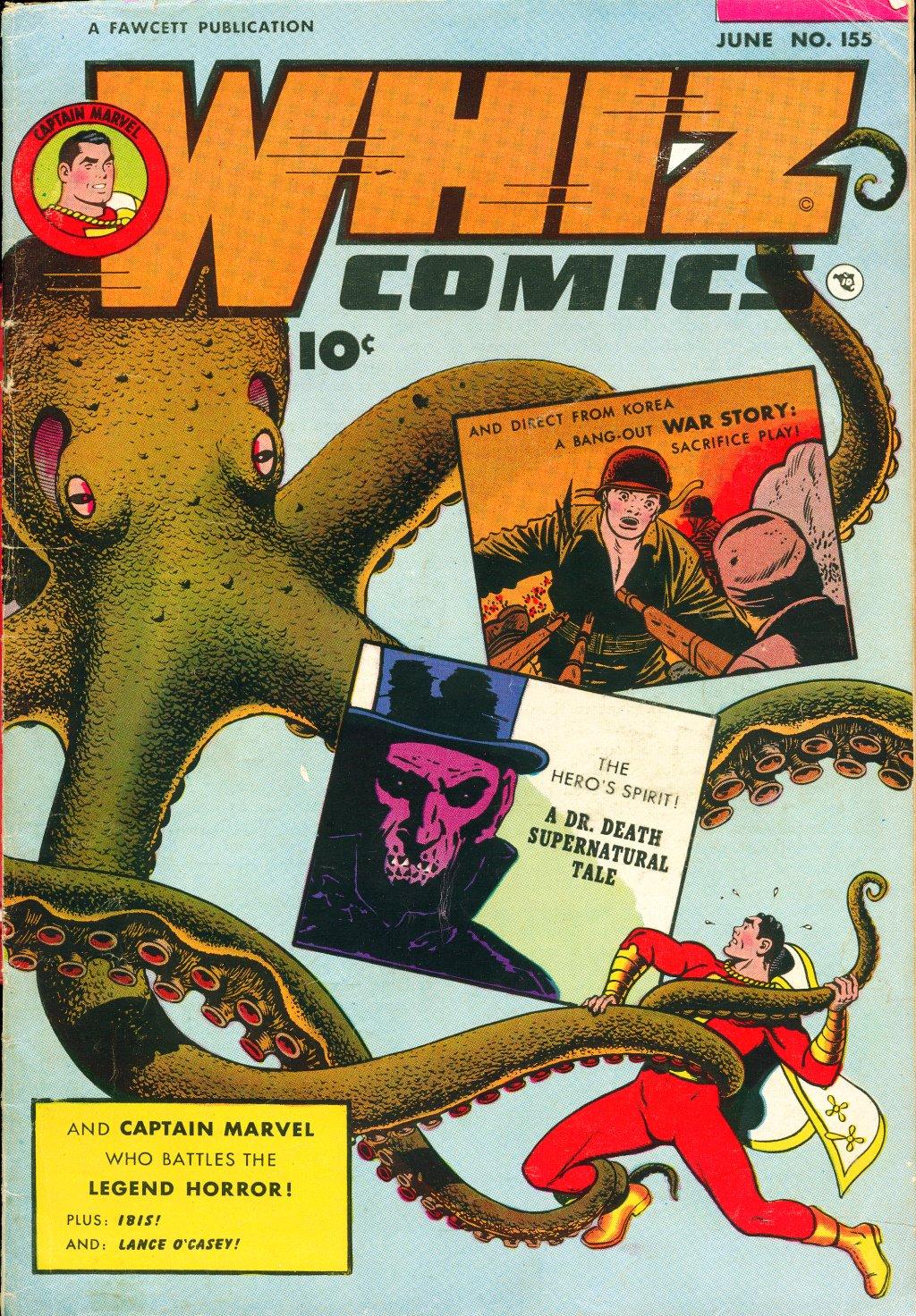 WHIZ Comics #155 #156 - English 1