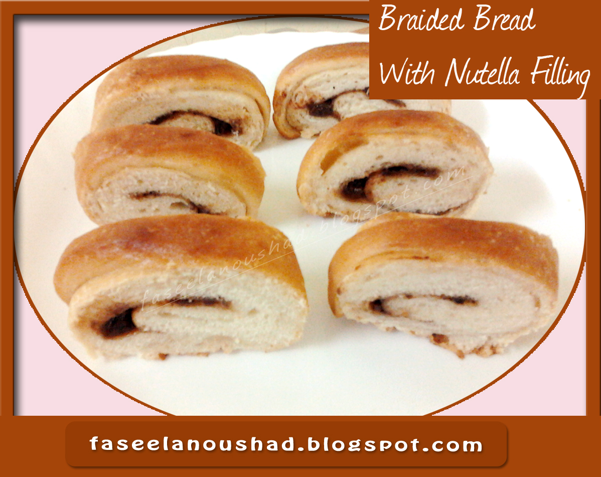 GOOD FOOD ENDS WITH GOOD TALK: Braided Bread With Nutella ...