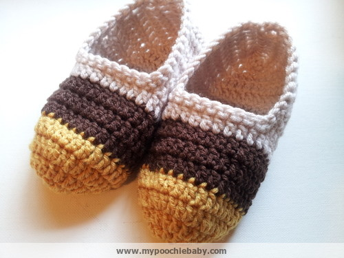 Raising Mimi At Poochiebaby Womens Crochet Ballet Slippers Free Pattern