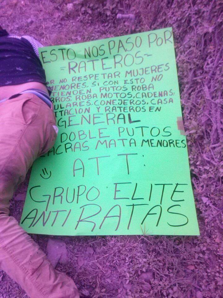 Imágenes muy fuertes abandonan a 6 personas con las manos cercenadas en Jalisco