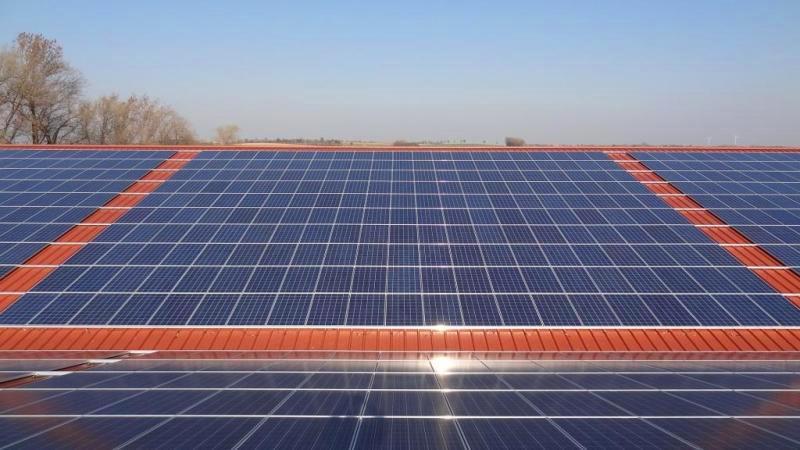 Solar Panel Technicians Installing Large Solar Energy