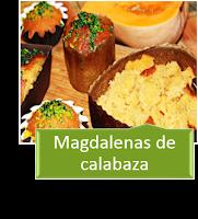 MAGDALENAS DE CALABAZA