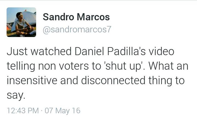 Sandro Marcos Was Praised By Netizen And Now Being Compared To Daniel Padilla!