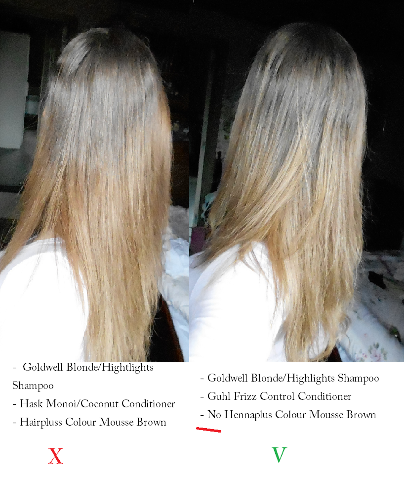 Review Hennaplus Colour Mousse In Brown Temporary Hair Colour