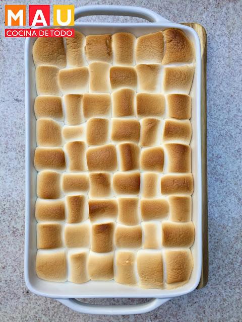 pure de camote sweet potato yams con bombones receta malvaviscos caserola