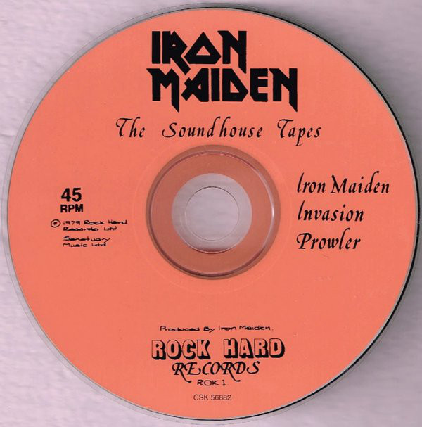 SOUNDHOUSE MAIDEN TAPES THE BAIXAR IRON CD
