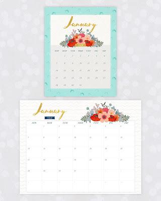 free 2018 desk calendar