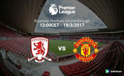 Middlesbrough Vs Manchester United