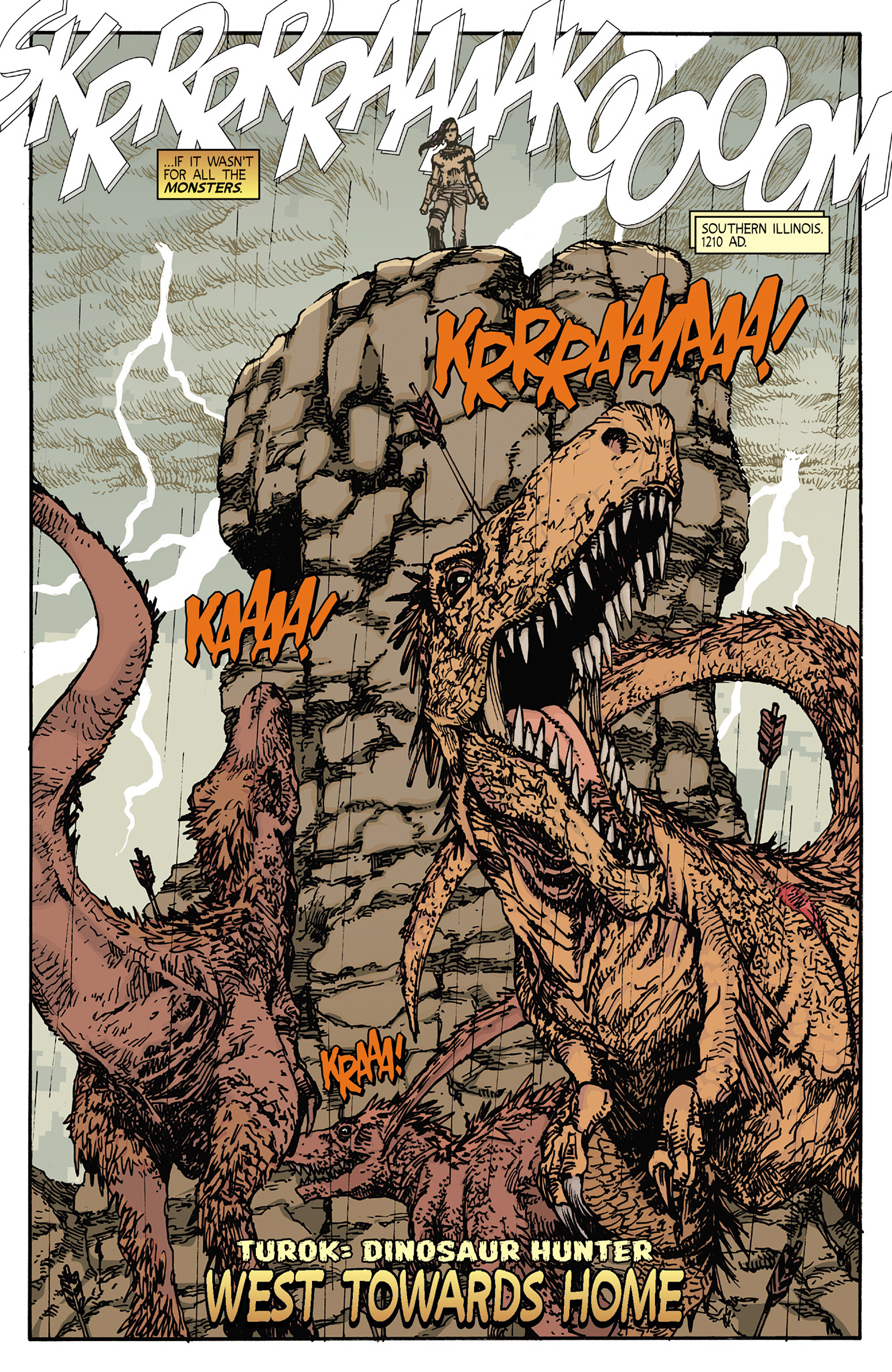 Read online Turok: Dinosaur Hunter (2014) comic -  Issue #5 - 4