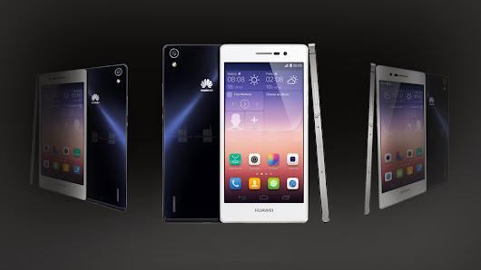 Introduction to Huawei Ascend P7 new smart phone review