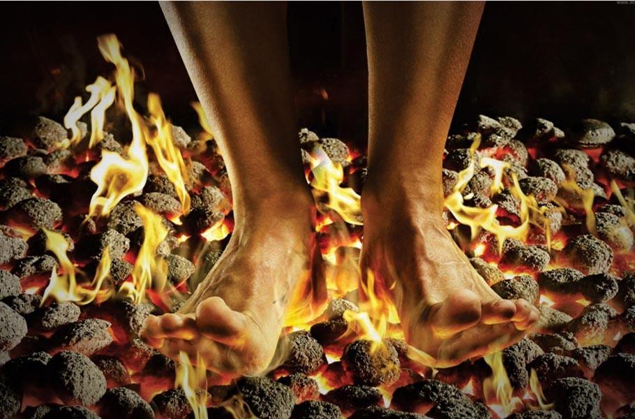 fire walking of vedic rituals the hindu portal spiritual