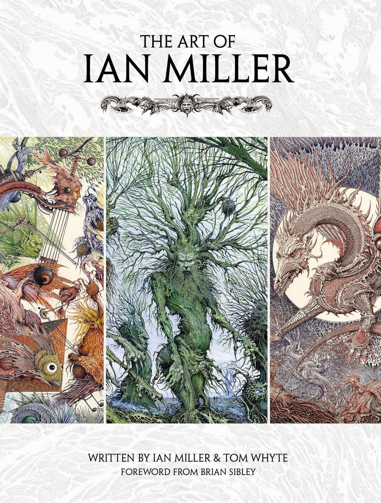 The Art of Ian Miller Cover Artwork