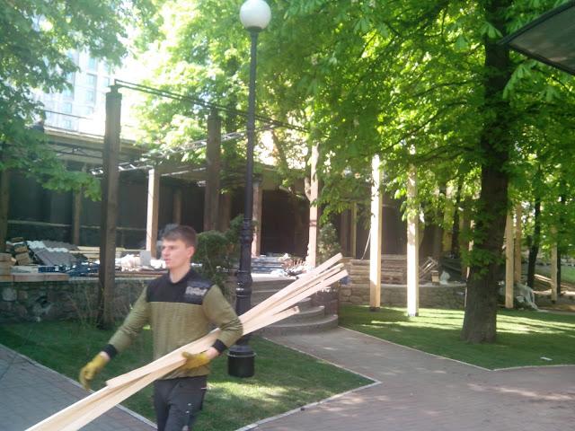 захват Полицейский сад