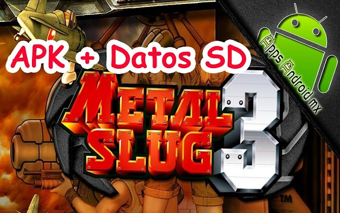 Metal Slug 3 + Data For Android APK Mediafire Links