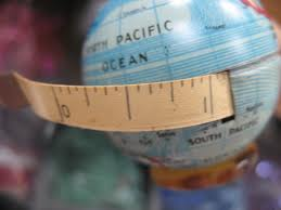 World with tape measure