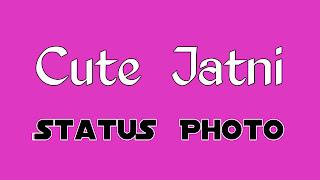Cute jatni status photo