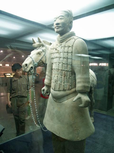 Guerrero con Caballo, Xian Museo de los Terracotas