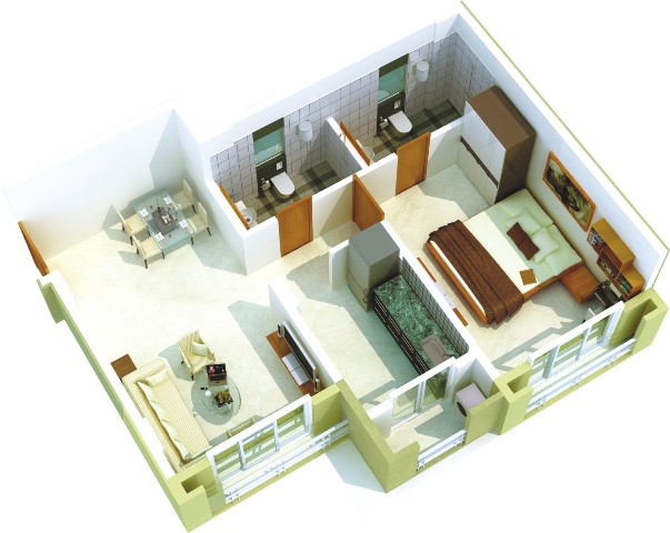 Puranik Grand Central Floor Plan