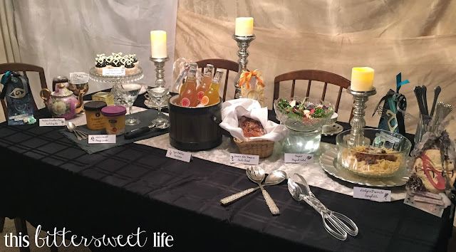Shadowhunters Premier Party by This Bittersweet Life and Alice Scraps Wonderland | Visit the blog for food ideas and a free printable!