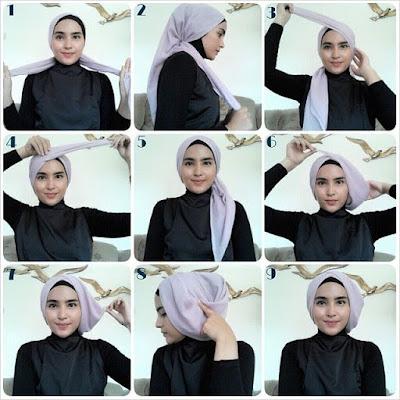 Tutorial hijab kebaya untuk menghadiri resepsi pesta ijab kabul 5 Tutorial Hijab Kebaya Untuk Nikahan Simple Terbaru 2018