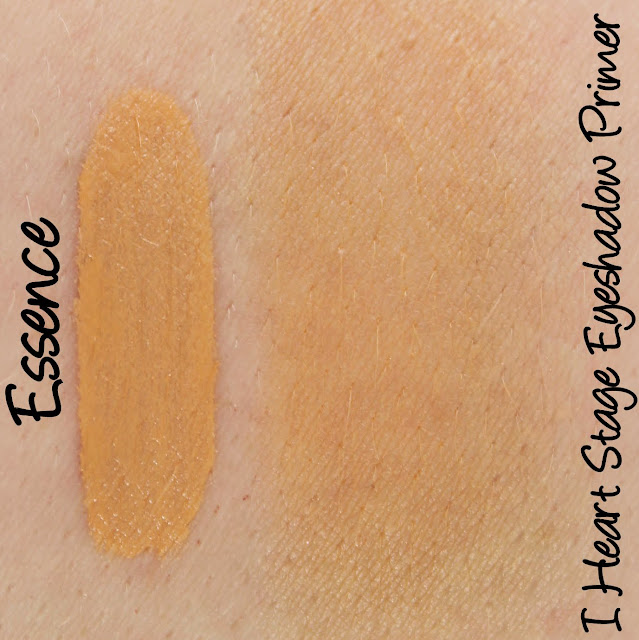 Essence I Heart Stage Eyeshadow Primer Swatches & Review