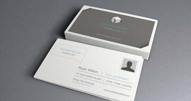 Corporate Business Card Vol 2