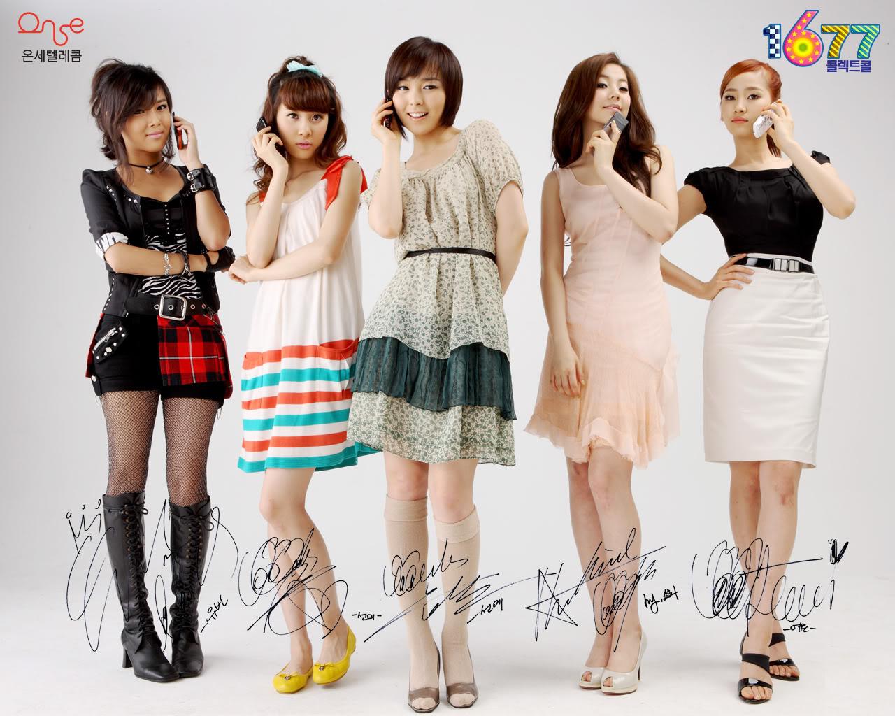 JEMBER KREASI: 12 Girlband Korea terpopuler
