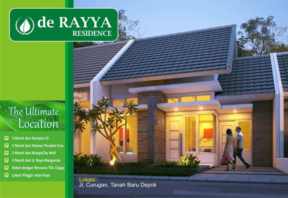 De Rayya Residence Perumahan Minimalis Baru Di Tanah Baru Depok