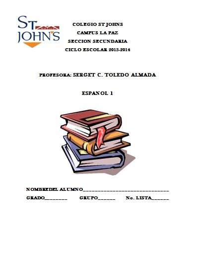 All Portadas De Español Para Secundaria