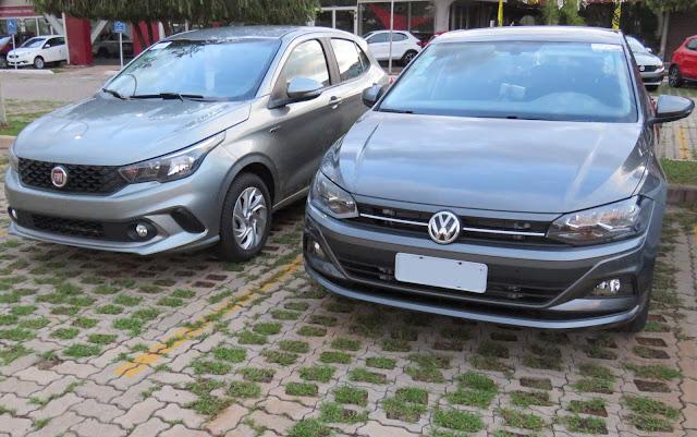 Fiat Argo x VW Polo: qual vendeu mais no lançamento