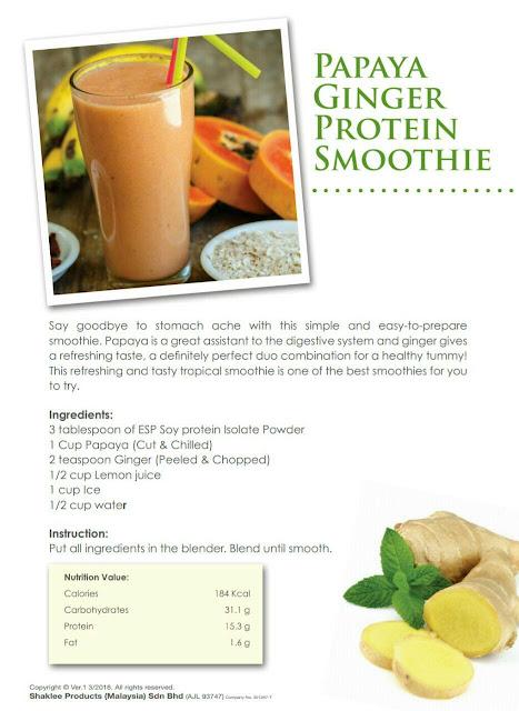 Resepi Smoothie sayur Yang Mudah, Lazat Dan Berkhasiat