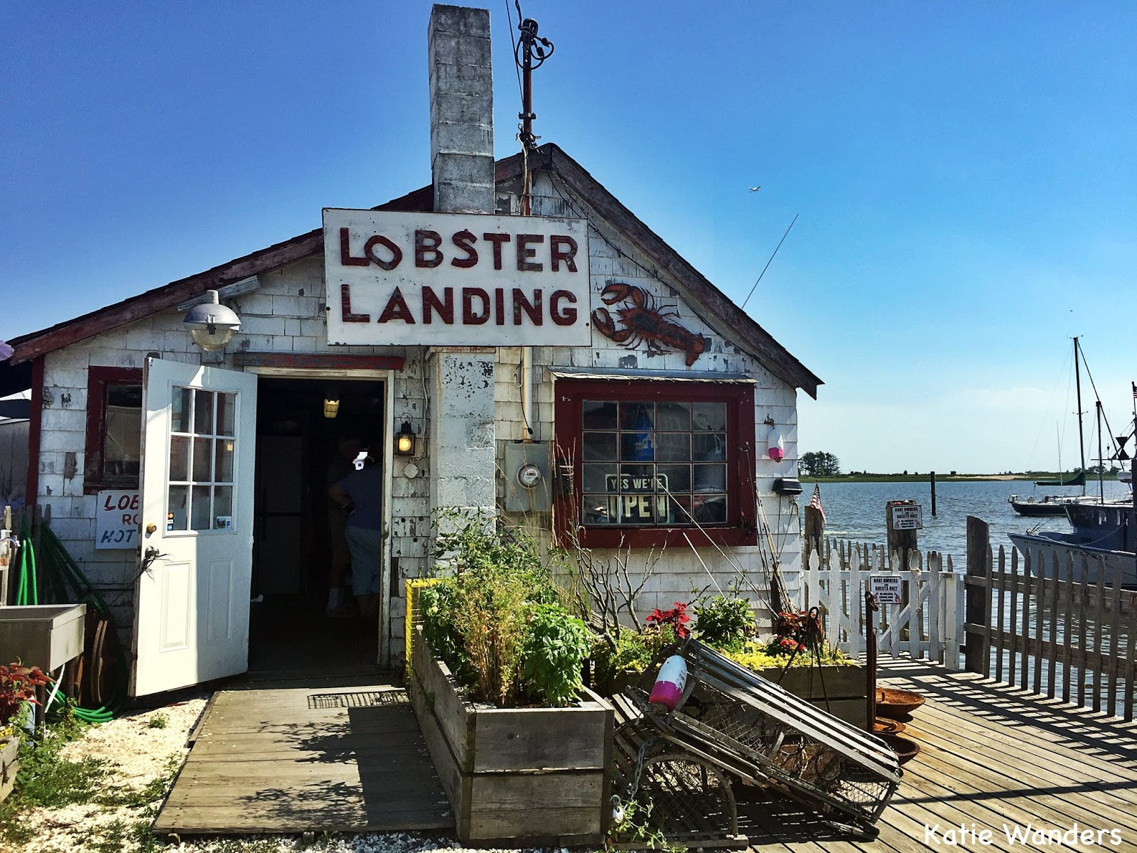 Katie Wanders : Lobster Landing, Clinton CT