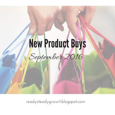 New Product Buys: September 2016