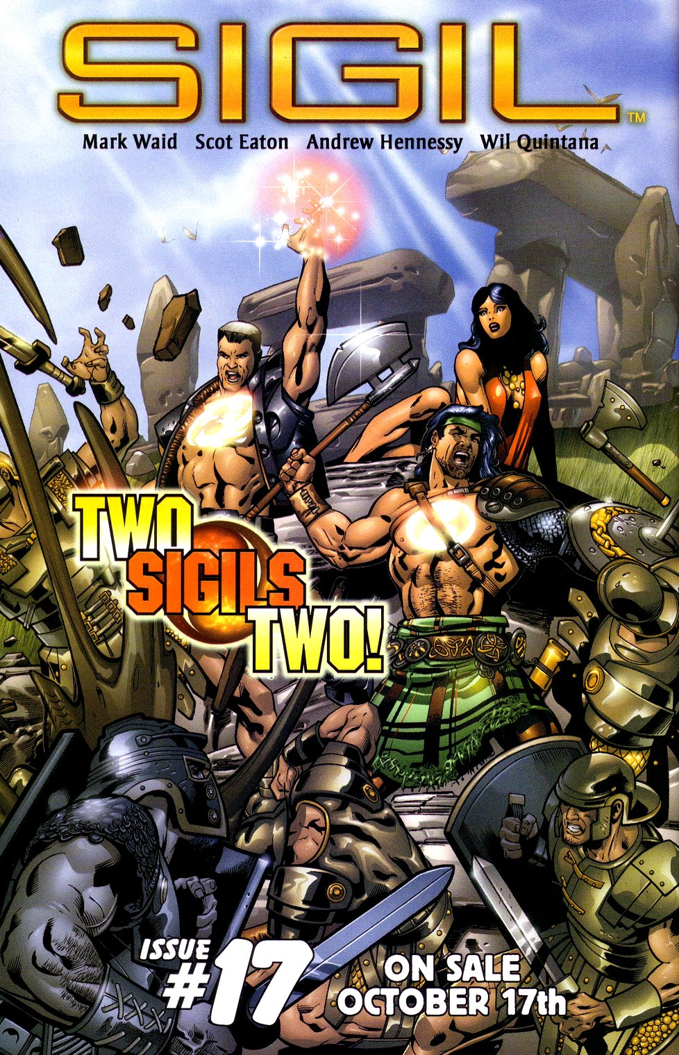 Read online Sigil (2000) comic -  Issue #16 - 23
