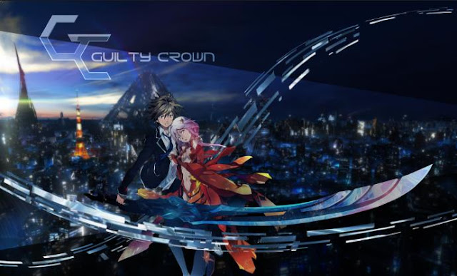Top Sword Anime Series ( Where the Main Character Uses a Sword) - Guilty Crown